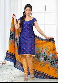 buy v and v shop cotton churidar material ctn112 846 blue with