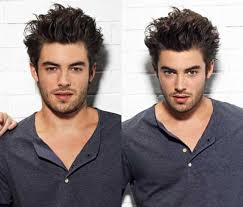 haircuts for slim faces men modern men s hairstyles for long faces 2017