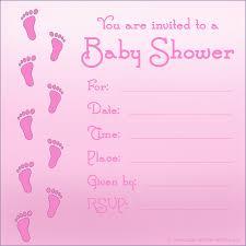 baby shower invitations for girls templates u2013 frenchkitten net