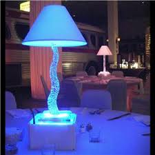 Lamp Centerpieces For Weddings by Glenn David Productions Weddings Dj Services