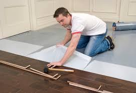 hardwood floor adhesive concrete titandish decoration