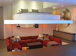 450 Sq Ft Apartment Interior Design 800 Square Ft Home With Murphy Bed That Comes Down From Ceiling