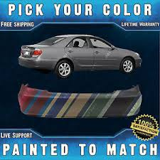 new painted to match rear bumper cover replacement for 2002 2006