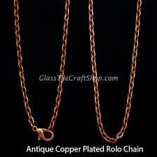 copper necklace chain images Rolo chain necklace wholesale antique copper 24 inch oval jpg