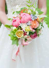 Wedding Flowers Magazine Holly Heider Chapple Flowers Tulip Poplar Flower Bouquet Coral