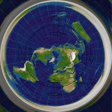 World Map Flat by What Is The Most Accurate Flat Earth Map