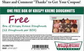 is the free krispy kreme doughnuts coupon real wbtw