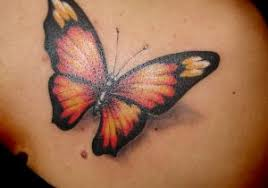 butterfly on shoulder blade butterfly tattoos on shoulder