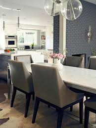 photos hgtv gray contemporary dining room with marble table