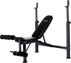 competitor olympic weight bench with leg attachment u0027s