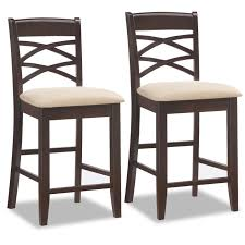 Cross Back Bar Stool Amazon Com Leick Wood Double Cross Back Counter Height Bar Stool