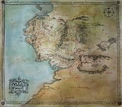 Map Of Mordor Middleearthmap Explore Middleearthmap On Deviantart
