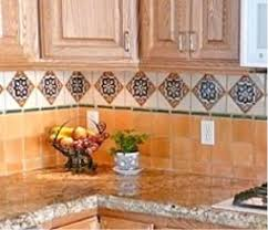 mexican tiles for kitchen backsplash ideas for using mexican tile in a kitchen backsplash mexican