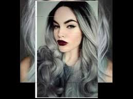 gray hair styles for at 50 50 shades of grey hair styles youtube