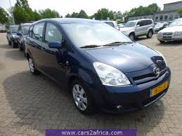 toyota corolla verso toyota corolla verso 1 8 64763 used available from stock
