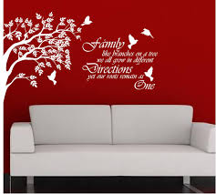 family roots home wall art sticker vinyl decal