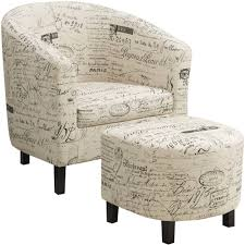 Accent Chair With Ottoman Accent Chairs With Ottomans