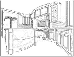kitchen design drawings kitchen design drawings and efficient