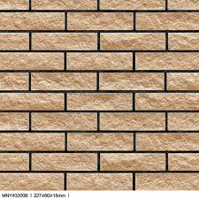 bright design split rock ceramic wall tiles for villa house pillar