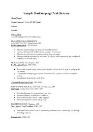 Resume For Bookkeeper Bookkeeper Resume Examples Accurated And Efficient Jesse Kendall