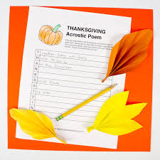 free thanksgiving acrostic and word hunt printables pink stripey