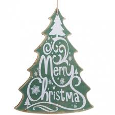 wooden christmas tree 16 merry christmas tree sign green xwm6309 craftoutlet