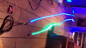 led christmas light tester testing ws2812 led christmas lights youtube
