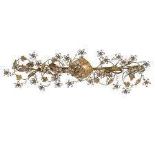 Gold Vanity Light Crystorama Crystorama Paris Market 5 Light Gold Vanity Light I