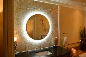 Mirror Wall Amazon Com Lighted Vanity Mirror Wall Mounted Led Round 36