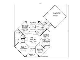 contemporary home floor plans floor plan hexagon house contemporary home 059h 0142