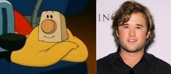 Toaster Face Haley Joel Osment Looks Like The Blanket From The Brave Little