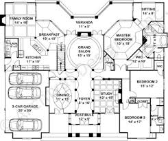 grand floor plans waterford empty nester house plan ranch floor plans