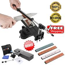 professional kitchen knife sharpener system promotion shop for ruixin pro ii knife sharpener professional kitchen sharpening knife sharpener system with 4pcs whetstones apex edge grindstone