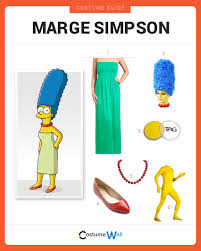 Simpsons Family Halloween Costumes by Dress Like Marge Simpson Costume Halloween And Cosplay Guides