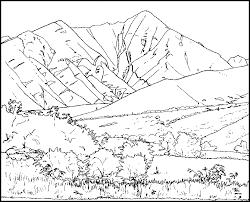 Montagne 8 Nature  Coloriages à imprimer
