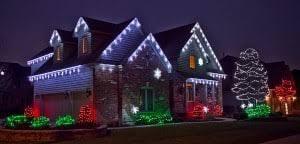 outdoor light display ideas