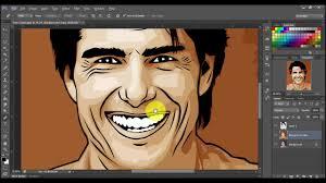 tutorial cara vector photoshop tutorial photoshop vector wajah simple youtube