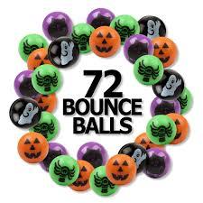 amazon com 6 dozen 72 bright halloween bouncing balls 1