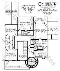luxury floor plans with pictures cape point lighthouse plan house plans by garrell associates inc