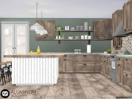 how to make a corner kitchen cabinet sims 4 wondymoon s aluminum kitchen