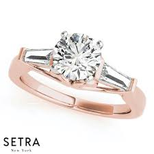 new jewelry rings images Engagement rings new bridal fancy shape baguette remounts setra jpg