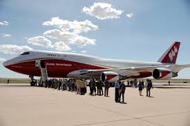 Colorado Wildfire Status by Colorado Springs Based Supertanker Needs Federal Clearance Before