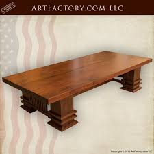 craftsman style coffee table craftsman style coffee table frank lloyd wright design