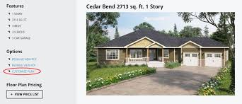customize home customize plans reality homes inc
