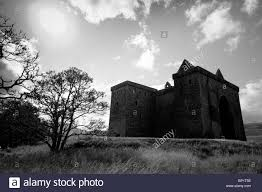 hermitage castle on the scottish border a foreboding and dark