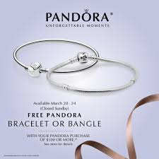 bangle bracelet pandora images Free pandora bracelet or bangle with 100 purchase jpg