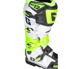 gaerne sg12 motocross boots gaerne mx boots sg 12 white fluo yellow grey limited edition