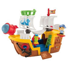Little Tikes Pirate Ship Bed Pirate Toy Ships Target