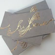 Business Cards Foil Want A Creative And Memorable Business Card To Make A Great First