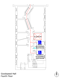 Elevator Symbol Floor Plan Uchicago Maps Goodspeed Hall Accessible Entrances And Routes